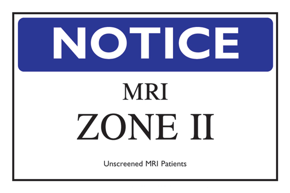 Figure 2. Examples of MR Zone-Level Signage