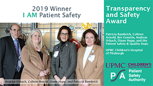 Winner: Transparency and Safety Award
