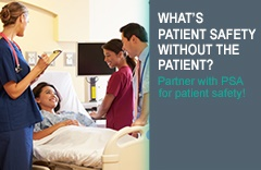Image of patient engaging in healthcare conversation