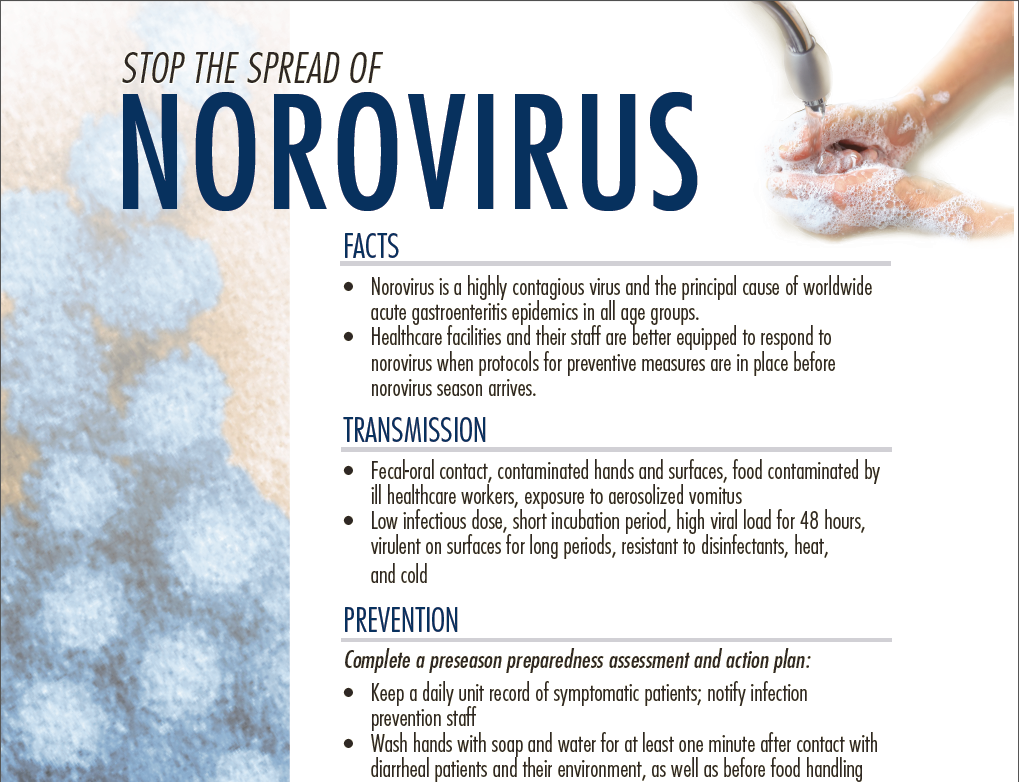 Stop the Spread of Norovirus